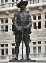 Gurkha statue